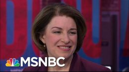 Sen. Klobuchar: Right Now Is 'A Pretty Exciting Time For Our Campaign' | Andrea Mitchell | MSNBC 6