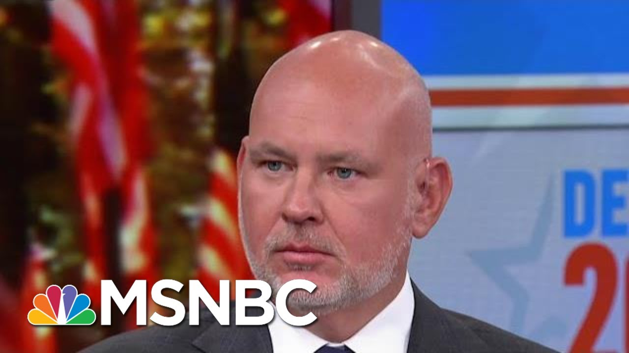 Steve Schmidt: If You Can't Beat Sanders, Buttigieg, Klobuchar, You Can't Beat Trump   MSNBC 5