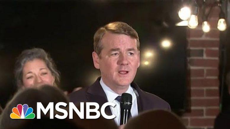 Sen. Michael Bennet Ends Presidential Bid | MSNBC 1