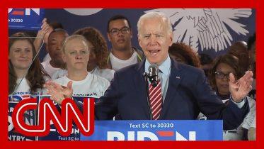 Joe Biden on 2020 race: 'It ain't over, man. We're just getting started.' 6