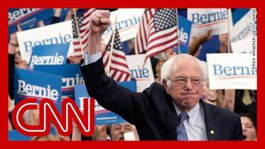 Bernie Sanders declares victory in New Hampshire 2