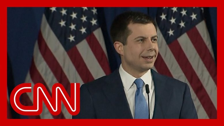 Pete Buttigieg offers message of party unity after New Hampshire primary 1