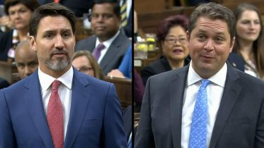 Scheer and Trudeau spar over Liberal minister's comments on media licensing 6