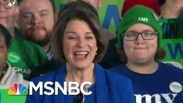 Klobuchar, Headed For Third Place In New Hampshire, Touts Support Of Moderates, Independents | MSNBC 6