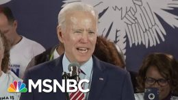 Biden Talks To Supporters In South Carolina In Wake Of Disappointing New Hampshire Results | MSNBC 4
