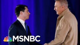 Kevin Costner On Why He's Backing Buttigieg | Velshi & Ruhle | MSNBC 9
