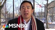 Andrew Yang Will Support A Candidate Backing A Basic Income | Morning Joe | MSNBC 2