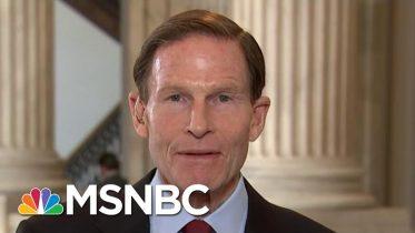 Sen. Richard Blumenthal: Attorney General Barr Should Resign   Hallie Jackson   MSNBC 6