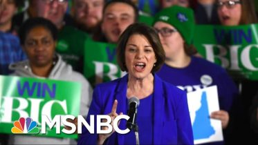 Bernie Sanders Edges Out Pete Buttigieg In N.H., Amy Klobuchar Bursts To Top-Tier | Deadline | MSNBC 6