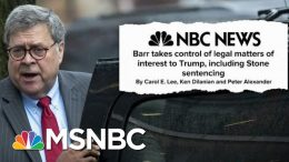 Trump's Hands Now Firmly Gripping The Steering Wheel At The Department Of Justice | Deadline | MSNBC 4