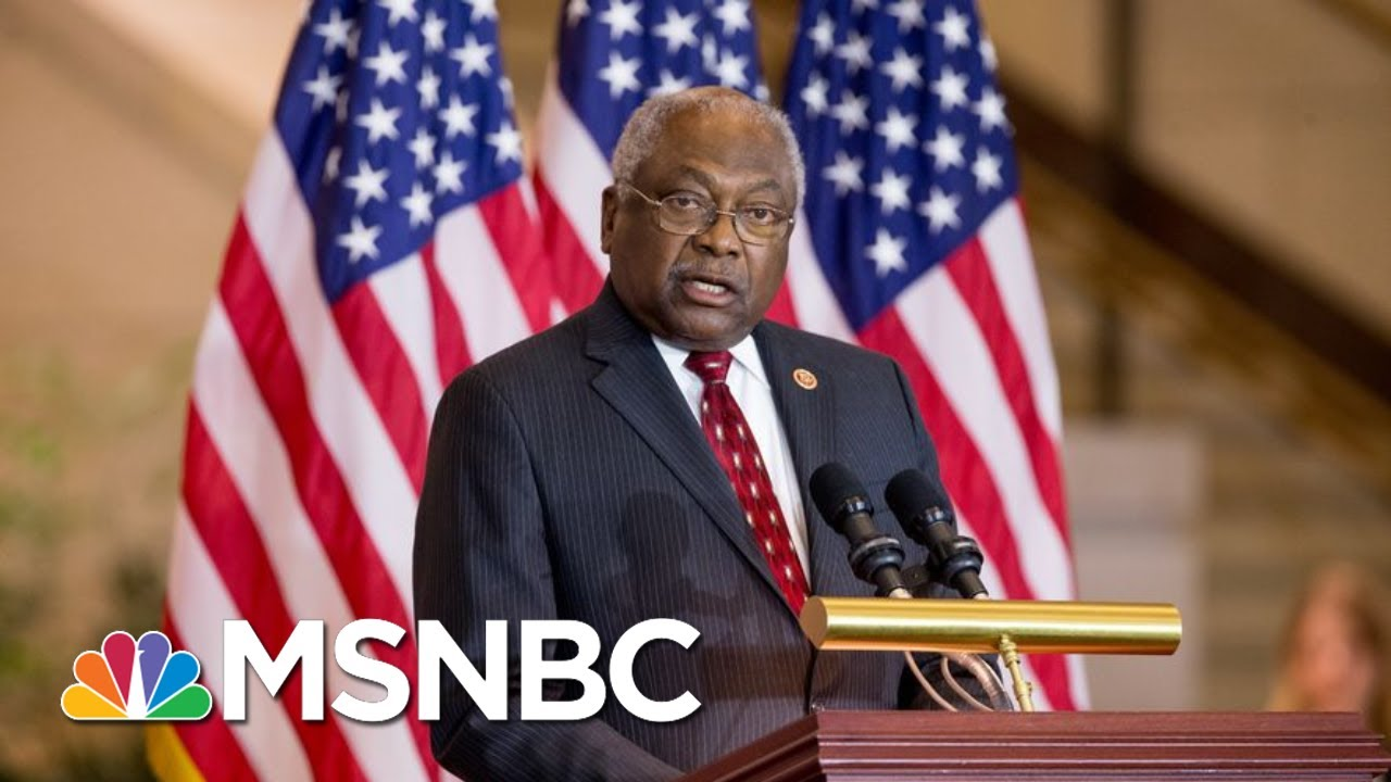 Clyburn: 'I Know Exactly Who I Would Endorse, And I've Known For Some Time Now'   MTP Daily   MSNBC 6