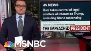 Chris Hayes Recalls Barr's Confirmation Hearing Amid Justice Department Corruption | All In | MSNBC 5