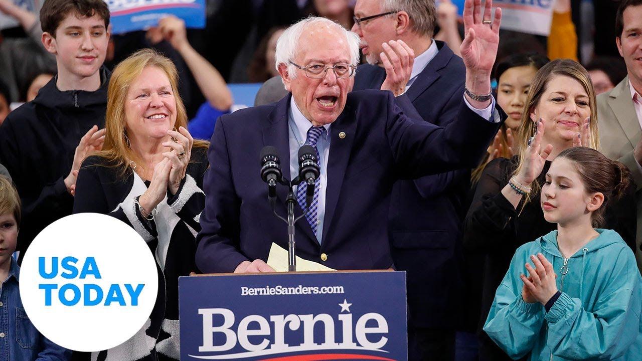 Bernie Sanders speaks at New Hampshire debate | USA TODAY 1