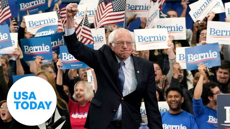 Bernie Sanders wins the 2020 New Hampshire primary | USA TODAY 1