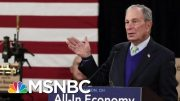 President Donald Trump Attacks Bloomberg Over Height And Bloomberg Hits Back | Morning Joe | MSNBC 3
