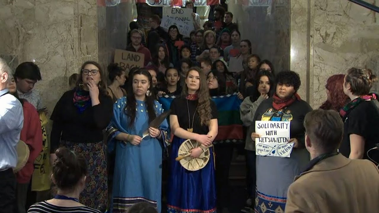 """B.C. chief says """"lack of leadership"""" by Trudeau, Horgan is why protests are happening 7"""
