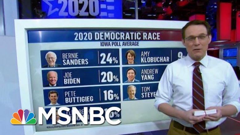 Keep An Eye On The Age Divide In Iowa: Steve Kornacki | Morning Joe | MSNBC 1