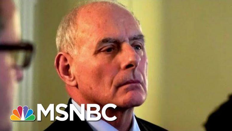 Joe: Thank You To General John Kelly For Telling The Truth | Morning Joe | MSNBC 1