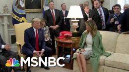 Trump Defends Stone, Attacks Judges And Prosecutors | Morning Joe | MSNBC 3