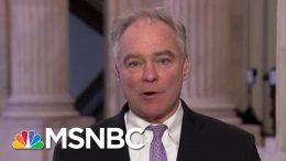 Senator Calls For Passage Of War Powers Resolution | Morning Joe | MSNBC 4