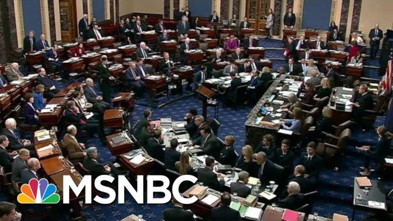 'The Senate Is Drowning And I'm Holding Its Head Under Water' | The Last Word | MSNBC 1