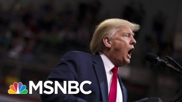The Atlantic Outlines The Trump Campaign's Disinformation Tactics | Velshi & Ruhle | MSNBC 5