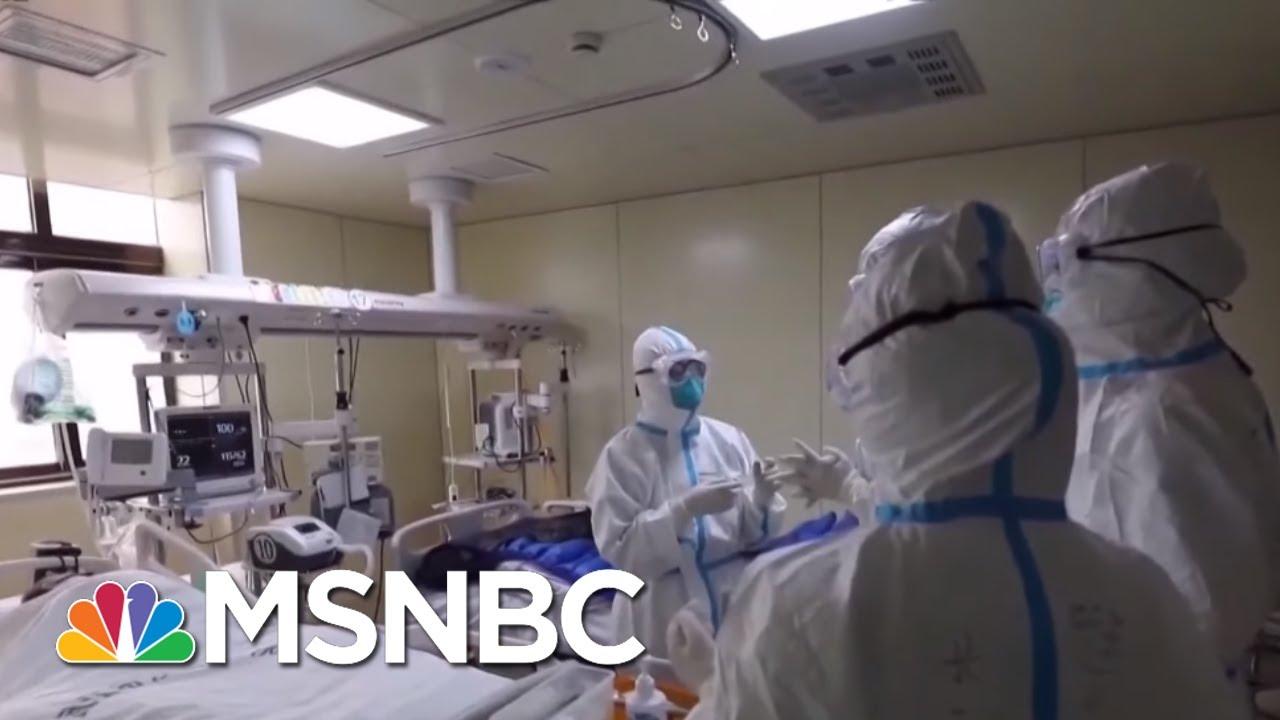 CDC Confirms 15th Coronavirus Case In U.S.   Hallie Jackson   MSNBC 6