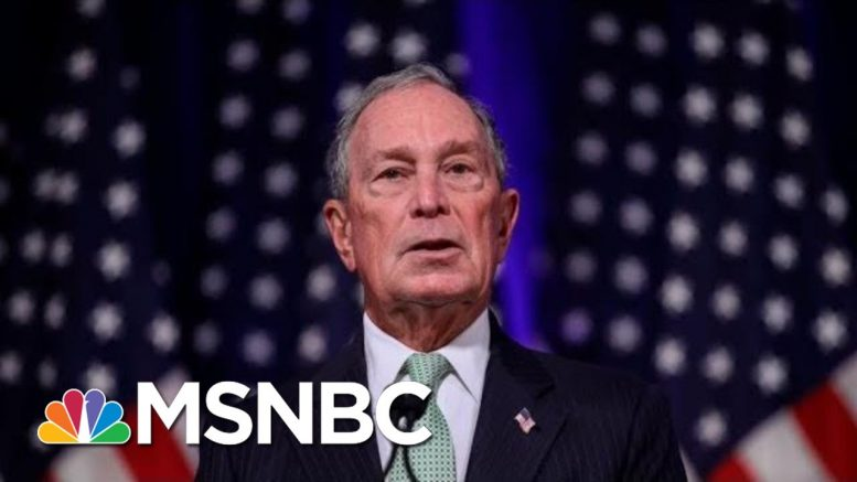 Why Bloomberg Is Paying People To Make Him Look Cool On The Internet | Hallie Jackson | MSNBC 1