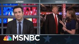2016 Candidate Trump On 9/11, Iraq War, Justice Scalia's Death And Potential SCOTUS Picks | MSNBC 1
