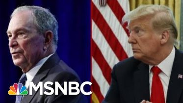 President Donald Trump And Michael Bloomberg's Back And Forth | Deadline | MSNBC 6