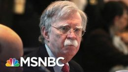 What Happens If John Bolton Speaks Out Before The Final Impeachment Vote? | MSNBC 7