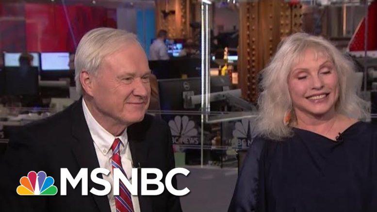 Chris Matthews Condemns Half-Truths In The Trump Era, Blondie's Debbie Harry Defines 'Cool'   MSNBC 1