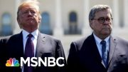 Besieged AG Barr Knocks Trump But Still Backs Plot To Help Convicted Trump Aide | MSNBC 3