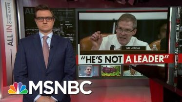 Rep. Jim Jordan called 'Coward' Over Alleged Abuse Cover-Up | All In | MSNBC 6