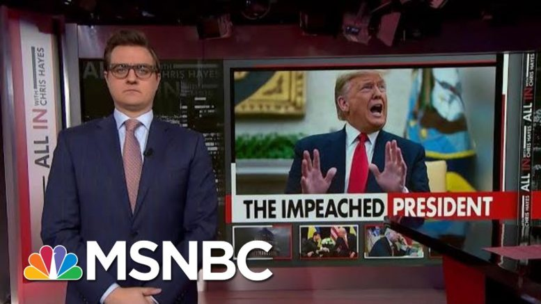 Chris Hayes: We Need To Hear From More Former White House Staffers | All In | MSNBC 1