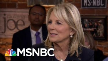 Jill Biden: Trump is afraid of going up against Joe | Morning Joe | MSNBC 6
