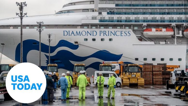 A look inside the Diamond Princess cruise ship quarantined by coronavirus | USA TODAY 1