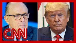 Trump contradicts himself on Giuliani and Ukraine, misleads on Vindman 4