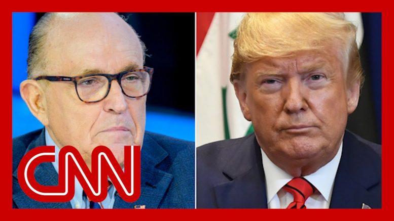 Trump contradicts himself on Giuliani and Ukraine, misleads on Vindman 1