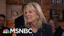 Jill Biden: As First Lady, I'd Get Rid Of Betsy DeVos   Morning Joe   MSNBC 3