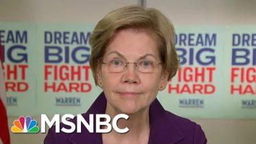 Warren On Bloomberg & The Practice Of Banks 'Redlining' Minority Communities | The Last Word | MSNBC 1