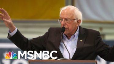 Bernie Sanders Seeks To Ease Nevada Union Tension | Velshi & Ruhle | MSNBC 6
