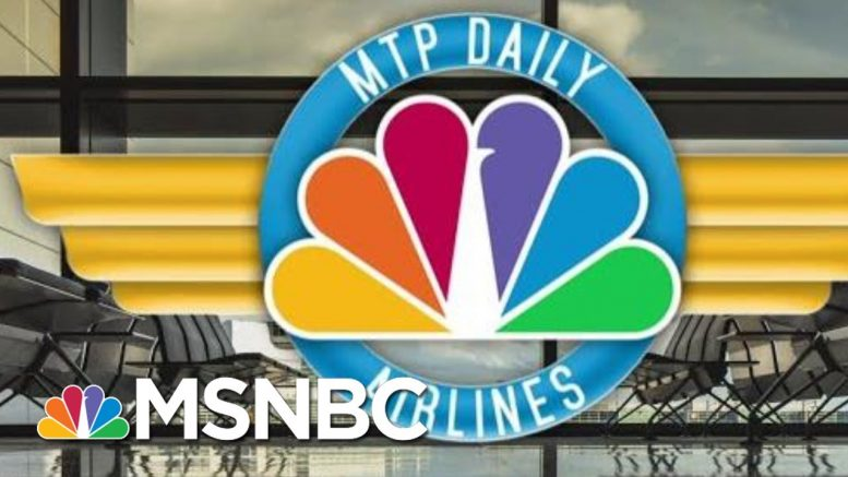 The Recline Of Civilization - MTP Daily's Airplane Etiquette | MTP Daily | MSNBC 1