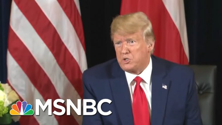 Trump's Pattern: Deny, Then Say It Was Okay To Do All Along | Hardball | MSNBC 1