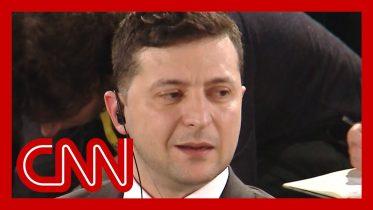 Ukrainian President Zelensky rejects Trump's claim in CNN interview 10