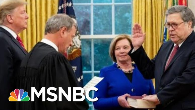 Rule Of Law Already Broken Where It Involves Trump | Rachel Maddow | MSNBC 1
