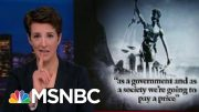Barr Interfering In Some Cases That Are Not Yet Public: NYT | Rachel Maddow | MSNBC 5
