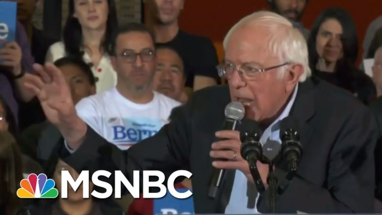 Sanders Campaign: 'We Have Not Cut Any Deals' | MTP Daily | MSNBC 1