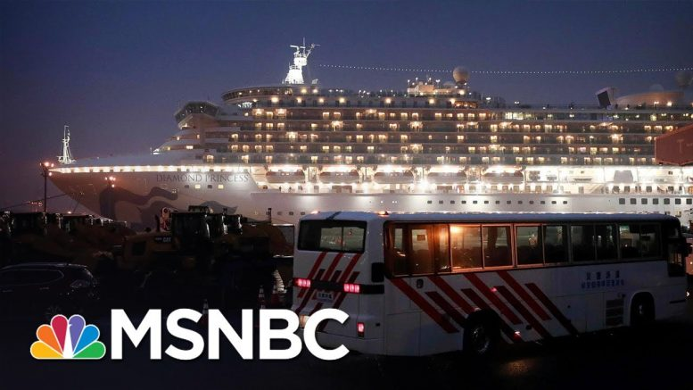 American Passengers Prepare To Evacuate From Cruise Ship In Japan | MSNBC 1