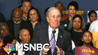 Dem Rivals Zero In On Michael Bloomberg As He Rises In The Polls | Velshi & Ruhle | MSNBC 6